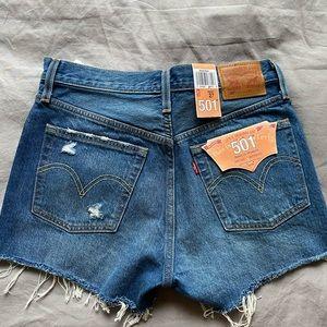 Levi denim shorts (NEW)